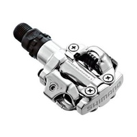 Shimano Pd-M520 Mtb Xc Clipless Spd Pedals Silver
