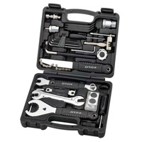 BTR Professional Bike Bicycle Repair Tool Kit inc Bottom bracket Chain whip Crank Tool