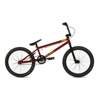 2013 Fiction Saga Bike Redrum Red / Black BMX 20""