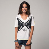 Fox Racing Womens Aftershock Football Tee