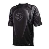 FOX COVERT SHORT SLEEVE SS BIKE JERSEY BLACK
