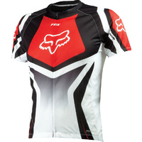 FOX LIVEWIRE RACE MTB BIKE JERSEY RED