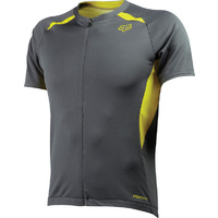 FOX AIRCOOL RACE MTB BIKE JERSEY CHARCOAL