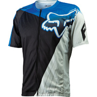 FOX LIVEWIRE DESCENT MTB BIKE JERSEY BLUE