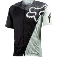 FOX LIVEWIRE DESCENT MTB BIKE JERSEY BLACK