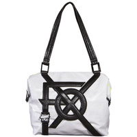 FOX JUXTAPOSE TOTE BAG WHITE