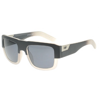 Brand New Fox Racing The Decorum Sunglasses Matte Black Fade/Gray