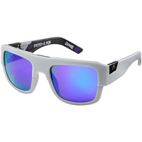Brand New Fox Racing The Decorum Sunglasses Matte Gray Intake/Violet Spark