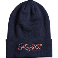 Fox Racing Mighty Womens Headwear Beanie Hat - Indigo One Size