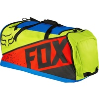 Fox New 2016 Mx Podium 180 Divizion Blue Yellow Race Luggage Motocross Gear Bag