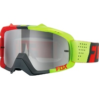 Fox Racing Mx Air Defence Libra Red Yellow Spark Motocross Dirt Bike Goggles