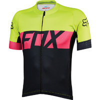 FOX ASCENT SS JERSEY 2017 FLO/YELLOW