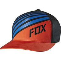 Fox Racing Never Idle Youth Boys Flexfit Hat Blood Orange One Size