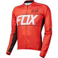 FOX ASCENT LS JERSEY RED