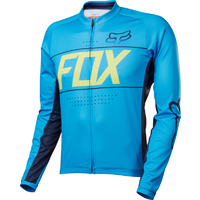FOX ASCENT LS JERSEY BLUE