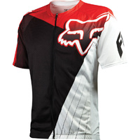 FOX LIVEWIRE DESCENT MTB BIKE JERSEY RED