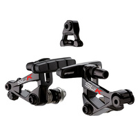 FSA BIKE BRAKE SET SLK CYCLOCROSS BRAKE SET BLACK RED DECAL