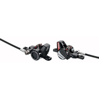 FSA DISC BRAKE MTB FRONT & REAR K-FORCE DB-XC-9000 BLACK/RED