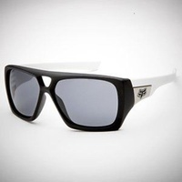 Fox Racing The Remit Sunglasses Matte Black/White - Chrome Iridium