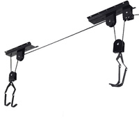 Velobici wall bicycle rack strong ceiling mount bike lift HOIST KAYAK SURFBOARD