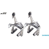 Shimano 105 BR-5700 Road Brake Calipers Front & Rear Set Silver