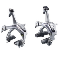 Shimano Ultegra BR-6700 Road Bike Brake Caliper Set Pair Silver (F&R)