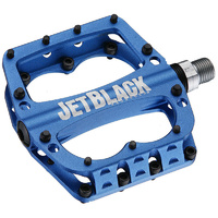 Jetblack Superlight Mtb Bike Bicycle Pedals Blue