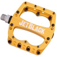 Jetblack Superlight Mtb Bike Bicycle Pedals Gold