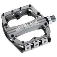 Jetblack Superlight Mtb Bike Bicycle Pedals Grey