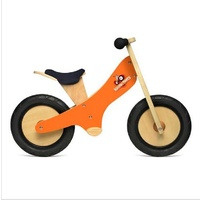 Kinderfeets Wooden Chalkboard Balance Kids Bike - Orange
