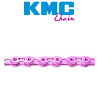 Kmc K710Sl 1/2 X 1/8 Inch 112 Links Bmx Bike Chain Pink