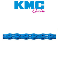 Kmc K710Sl 1/2 X 1/8 Inch 112 Links Bmx Bike Chain Blue