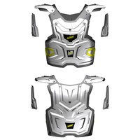 Leatt Mx Adventure White Motocross Body Armour Chest Armor Protector