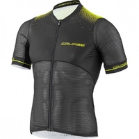 COURSE SUPERLEGGERA 2 CYCLING JERSEY Black/Yellow 2017