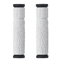 Lizard Skins Moab Dual Compound Bike Grips White
