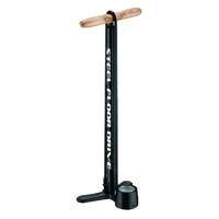 Lezyne Steel Floor Drive Dual V2 Bike Floor Pump Black ABS2