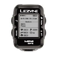 Lezyne Mini Bike Gps Y10 Black