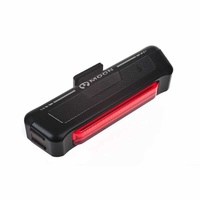 Moon Comet - Red Rear Flashing Bike Light, 35 Lumens, Usb Rechargeable