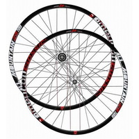 "AMERICAN CLASSIC ALL MOUNTAIN 29"" TUBELESS WHEELSET 15MM FR THRU AXLE BLACK"