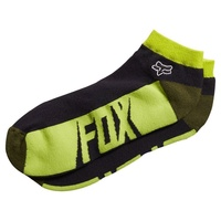 Fox Racing Mens Conjure No Show Ankle Socks