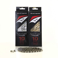 Intrepid X10Sl 10 Speed Bicycle Chain 114 Links  Bike Mtb Road Kmc Shimano Sram
