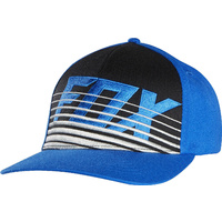 Fox Racing Mens Savant Flexfit Hat Blue