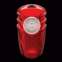 NiteRider Solas 2-Watt RED USB Rechargeable LED Rear Bicycle Tail Light