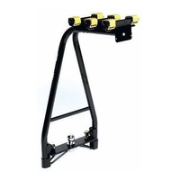 PACIFIC A-FRAME 3 BIKE TOW BALL CAR RACK STRAIGHT BASE