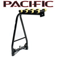 PACIFIC A-FRAME 4 BIKE TOW BALL CAR RACK STRAIGHT BASE