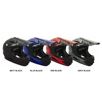 RJays Mach 6 Full Face Helmet & BMX HELMET