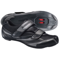 Shimano Sh-Rt32 Bicycle Road Touring Shoes Grey/Black