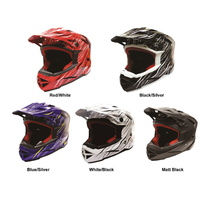 THH T-42 Full Face BMX Bike Youth Helmet