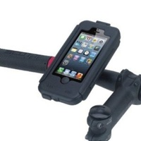 TiGRA BikeCONSOLE Waterproof Motorcycle Bike Handlebar Phone Mount for iPhone 5