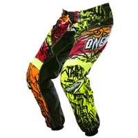 O'Neal Element Vandal Black/Neon Pants - 2017 Motocross Adult